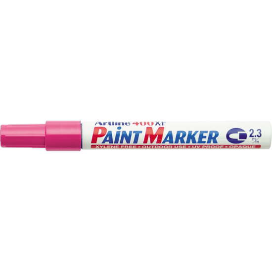 ARTLINE 400XF PAINT MARKER PINK