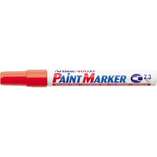 ARTLINE 400XF PAINT MARKER RED