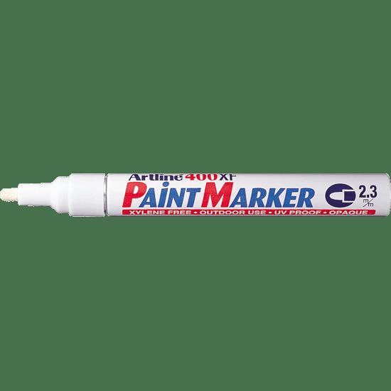 ARTLINE 400XF PAINT MARKER WHITE