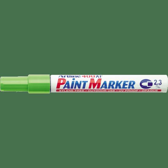ARTLINE 400XF PAINT MARKER YELLOW GREEN