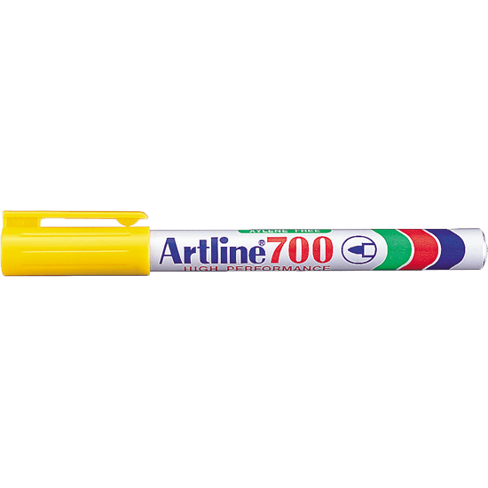 ARTLINE 700 PERMANET MARKER YELLOW