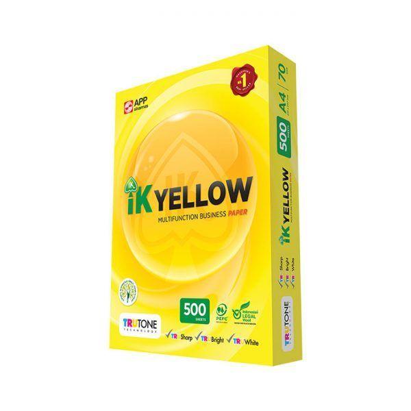 IK-YELLOW-A4-70GSM