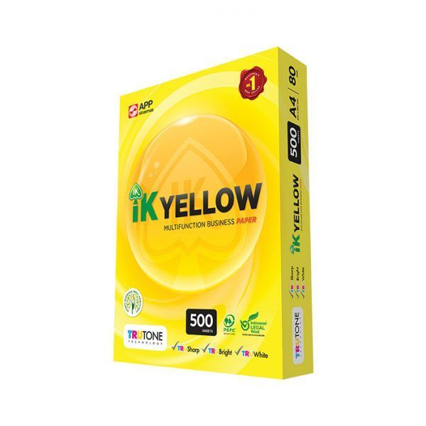 IK-YELLOW-A4-80GSM