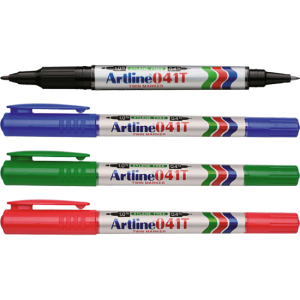 ARTLINE 041T EK-041T TWIN PERMANENT MARKER