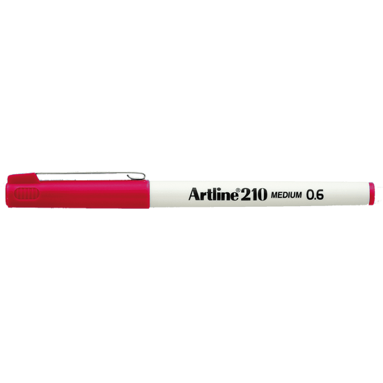 ARTLINE 210 EK-210 (M) RED