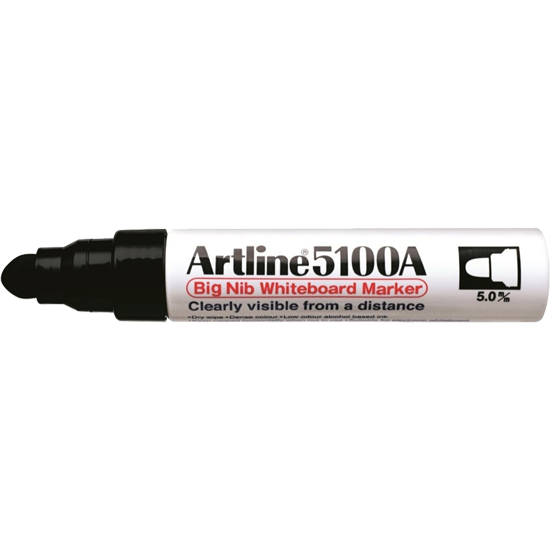 ARTLINE 5100A EK-5100A BIG NIB WHITEBOARD MARKER BLACK