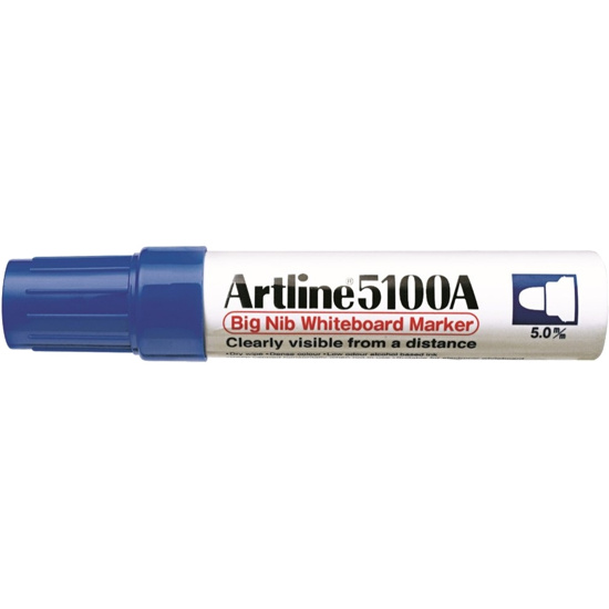 ARTLINE 5100A EK-5100A BIG NIB WHITEBOARD MARKER BLUE