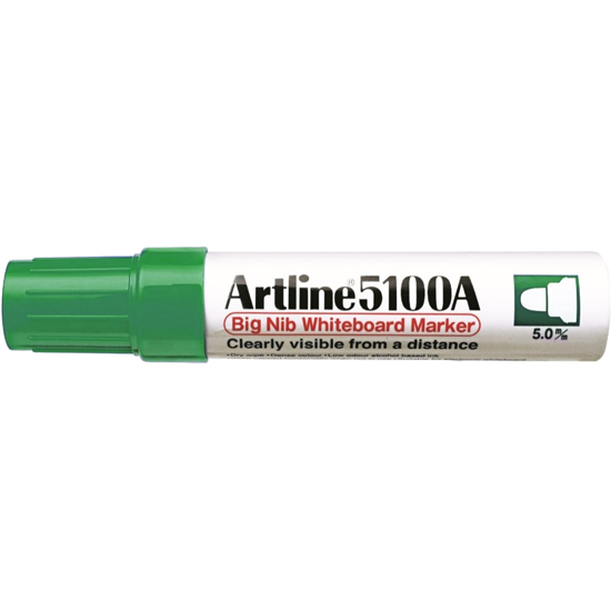 ARTLINE 5100A EK-5100A BIG NIB WHITEBOARD MARKER GREEN