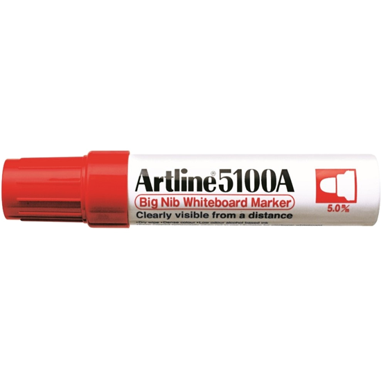 ARTLINE 5100A EK-5100A BIG NIB WHITEBOARD MARKER RED