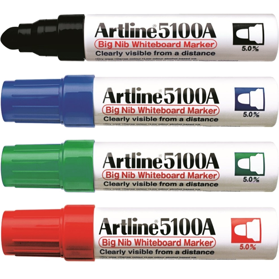 ARTLINE 5100A EK-5100A BIG NIB WHITEBOARD MARKER