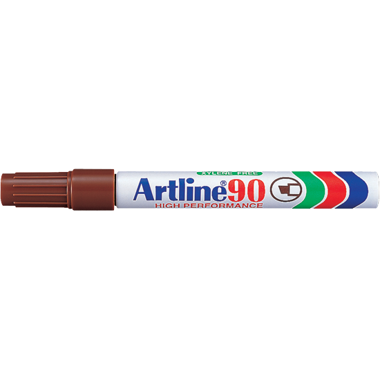 ARTLINE 90 EK-90 PERMANENT MARKER BROWN