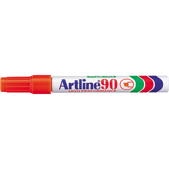 ARTLINE 90 EK-90 PERMANENT MARKER ORANGE