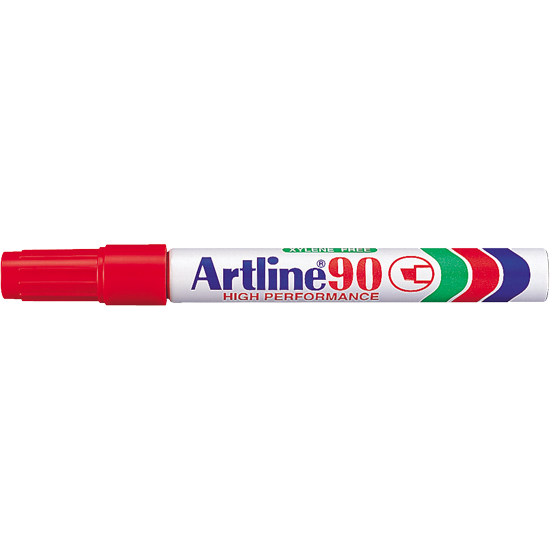 ARTLINE 90 EK-90 PERMANENT MARKER RED