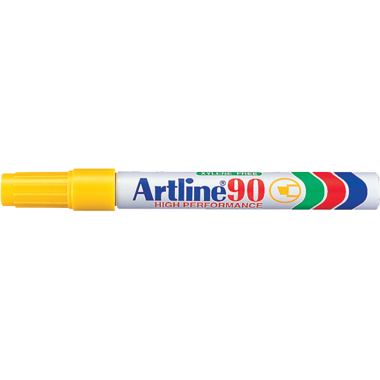 ARTLINE 90 EK-90 PERMANENT MARKER YELLOW