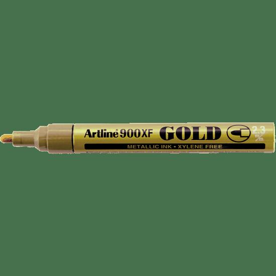 ARTLINE 900XF EK-900XF METALLIC INK MARKER GOLD