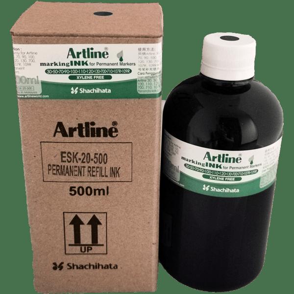 ARTLINE ESK-20-500 MARKING INK 500ML BLACK