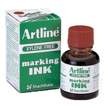 ARTLINE ESK-20 MARKING INK 20ML BROWN