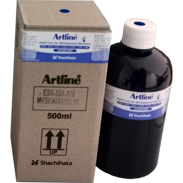 ARTLINE ESK-50A-500 REFILL INK FOR WHITEBOARD MARKERS 500ML BLUE