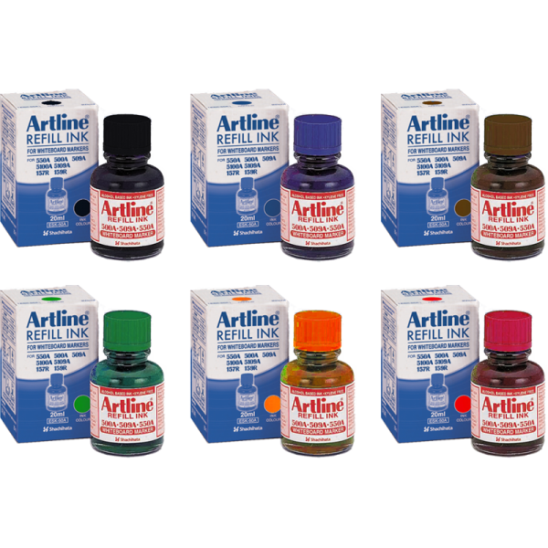 ARTLINE ESK-50A REFILL INK FOR WHITEBOARD MARKERS 20ML