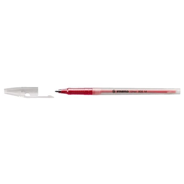 STABILO LINER 808 (M) RED