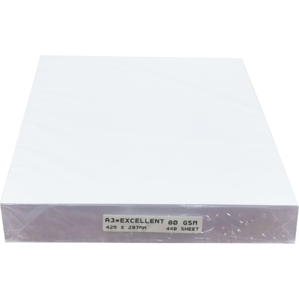 A3 80GSM COPIER PAPER WHITE