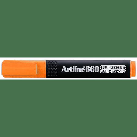 ARTLINE 660 EK-660 HIGHLIGHTER ORANGE