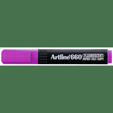 ARTLINE 660 EK-660 HIGHLIGHTER PURPLE