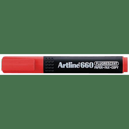 ARTLINE 660 EK-660 HIGHLIGHTER RED