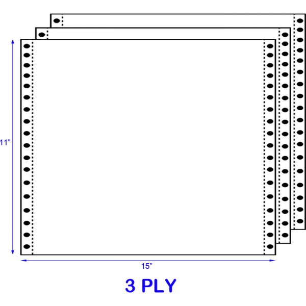 Computer Form A3 3 Ply