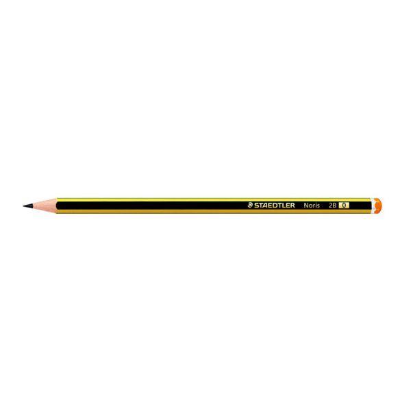 STAEDTLER NORIS 120 2B GRAPHITE PENCIL (12 PCS)2