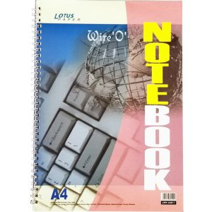 A4 SPIRAL NOTE BOOK (SIDE OPEN) (297MM X 210MM)