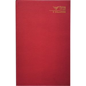 HARD COVER FOOLSCAP 3 COLUMNS BOOK 120 PAGES