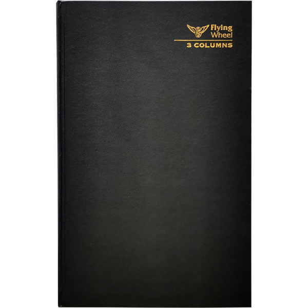 HARD COVER FOOLSCAP 3 COLUMNS BOOK 200 PAGES