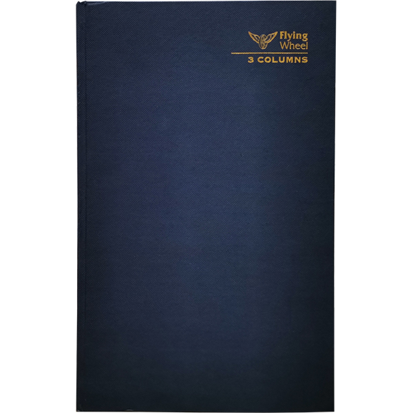 HARD COVER FOOLSCAP 3 COLUMNS BOOK 300 PAGES
