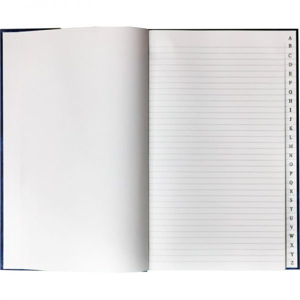 HARD COVER FOOLSCAP INDEX BOOK INSIDE